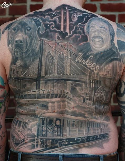 tattoo pictures of new york new york back tattoo by marvin silva tattoonow