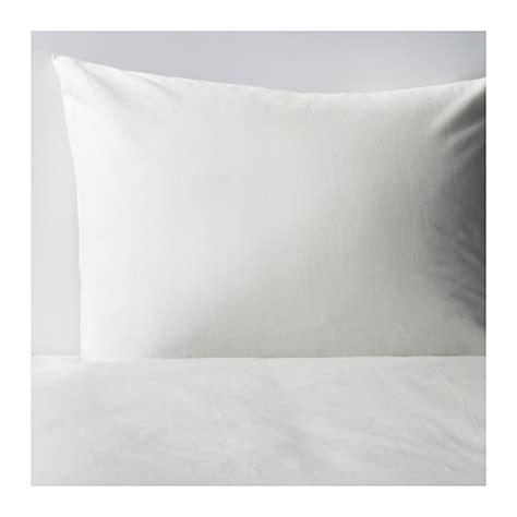 Ikea Somntuta Sarung Bantal 50x80 Cm Putih Katun Percale T1310 dvala sarung quilt dan 2 sarung bantal 150x200 50x80 cm ikea