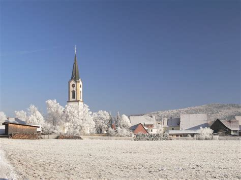 Panoramio Photo Of Kirchen Hausen Im Winter
