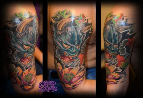 japanese mask hannya by y tattoo on deviantart