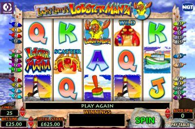 lobstermania slot machine slots uk