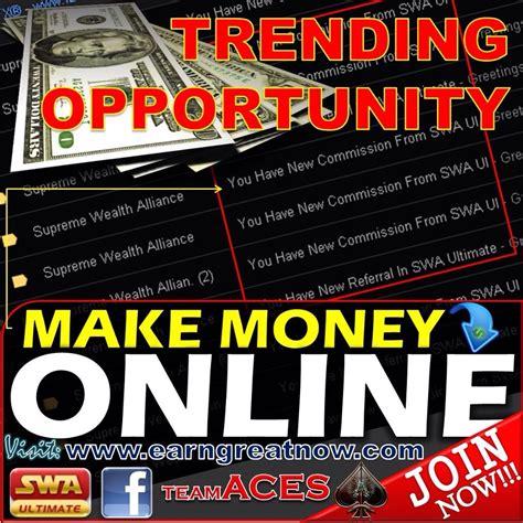 Make Money Online Facebook - earn money online using your facebook internet click