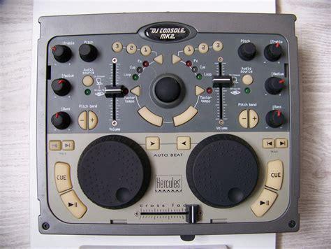 hercules dj console mk1 dj console mk2 hercules dj console mk2 audiofanzine