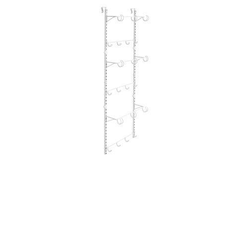 closetmaid the door adjustable hanging organizer in
