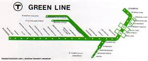 Mbta Green Line Map by The Lrv Beginning And End Boston Transit Emuseum Th