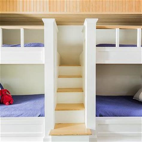 built in bunk beds cottage boy s room hickman design built in bunk beds cottage boy s room elle decor