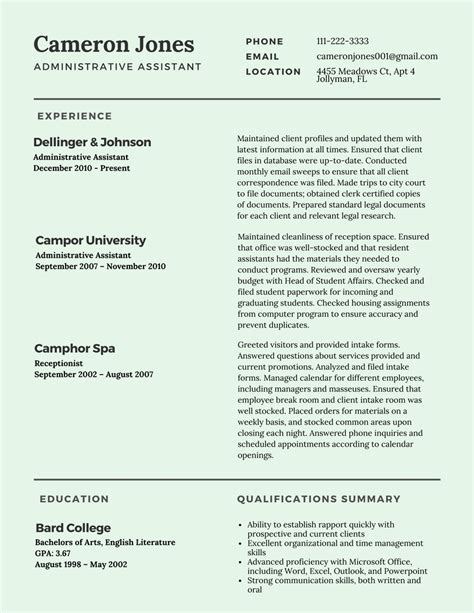 best resume exles for best resume format 2017 template learnhowtoloseweight net