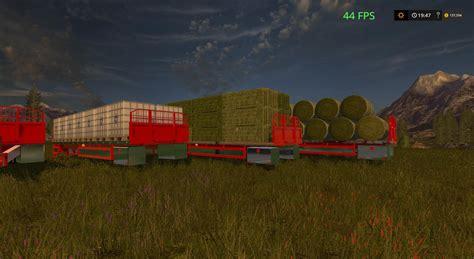Handmade Ls - peterbilt 388 custom flatbed auto load v1 fs17 farming