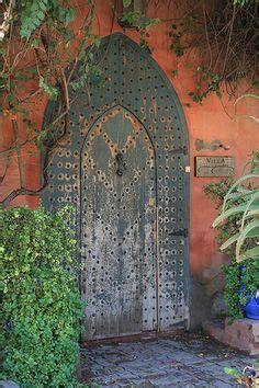 porte marocaine en bois peint porte marocaine