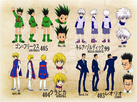 Y Anime Names by Hisoka Vs Gon 1999 Cadillac