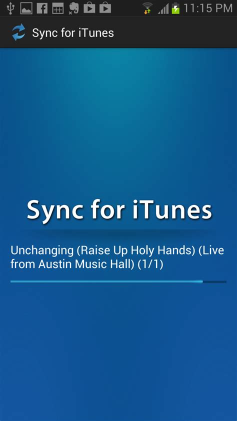 sync itunes to android sync for itunes au appstore for android