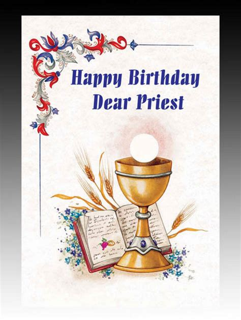 Birthday Cards For Catholic Priests Card Priest Happy Birthday Birthday Cards Pleroma