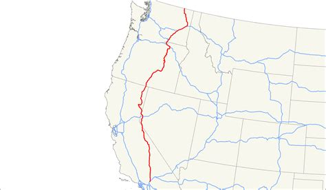 map of hwy 395 oregon u s route 395 wikiwand