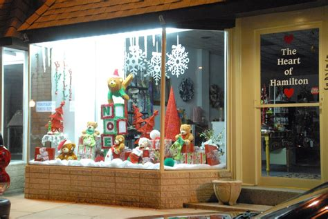 pretty christmas storefronts time for the holidays