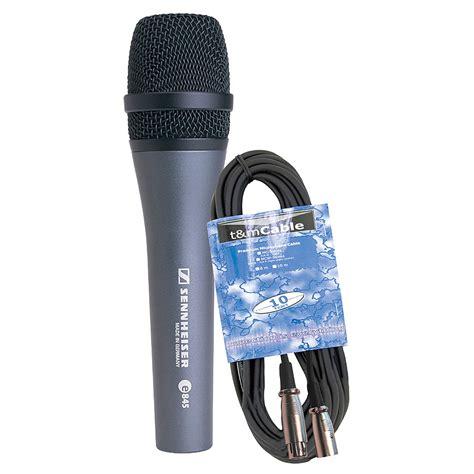 Murah Mic Kabel Sennheiser E 845 sennheiser e845 kabel set 171 mic bundle