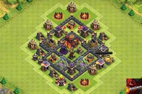 th5 layout 13 legendary trophy base layouts for pushing 2016
