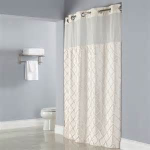 hookless shower curtain in luxury and elegant traditional