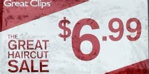 Great clips 6 99 haircut sale 2017 family budget tips money saving