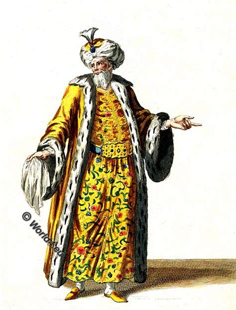 ottoman emperor the grand seigneur the turkish sultan in 1749 costume