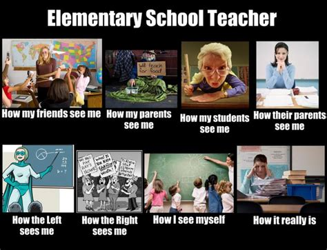 Public School Meme - how the world sees me and what i do meme for an elementary