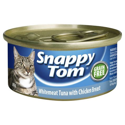 Snappy Tom Salmon With Chicken 1 5kg Makanan Kucing Snappy Tom Salmo whitemeat tuna with chicken breast 85g snappy tom