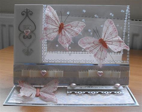Handmade Acetate - acetate easel card what a idea crafty inspiration