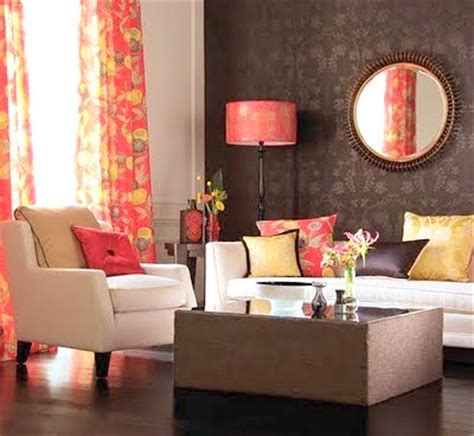 brown red and orange home decor decorating with colors color combinations