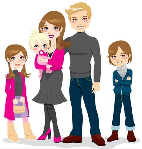 clipart famiglia happy family pictures cliparts co