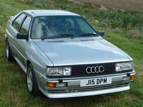how do cars engines work 1991 audi coupe quattro on board diagnostic system 1991 audi ur quattro turbo rr20 valve sold car and classic