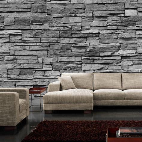 steinwand für wohnzimmer steinwand holzdecke kreative deko ideen und innenarchitektur
