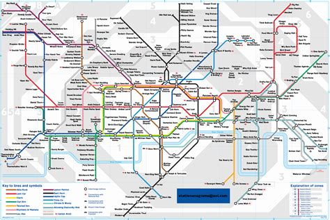underground map the best underground map pastiches telegraph