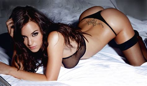 lorena sizzles as she poses on the bed wearing a hot black rosie jones the hottest model ever blu ray forum