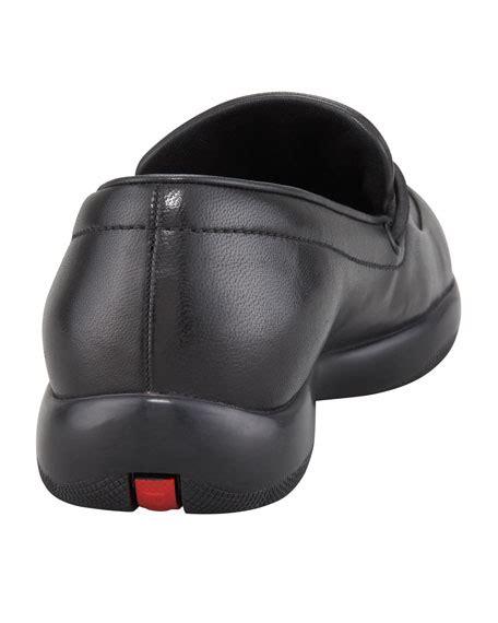 prada toggle loafers prada classic leather toggle loafer