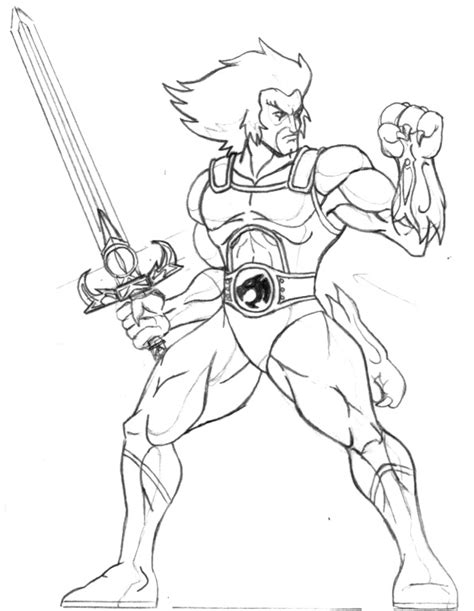 Thundercats Coloring Pages | coloring with thunder cats coloring pages
