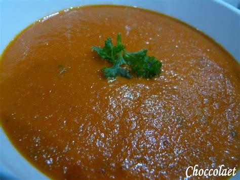velout 233 de tomate rapide au thermomix des plaisirs 212