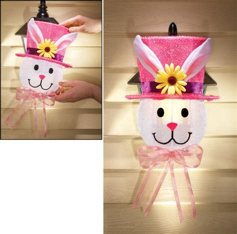 christmas porch light covers set of 2 outdoor easter bunny light covers front door