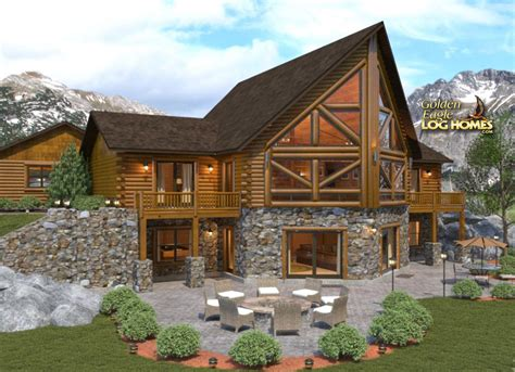 golden eagle log and timber homes log home cabin golden eagle log and timber homes floor plan details