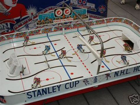 table top hockey table hockey heaven photos eagle stanley cup 1963 table top model