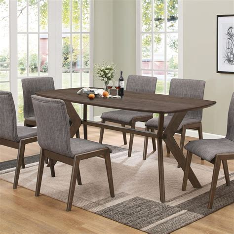coaster mcbride 107191 retro dining room table del sol
