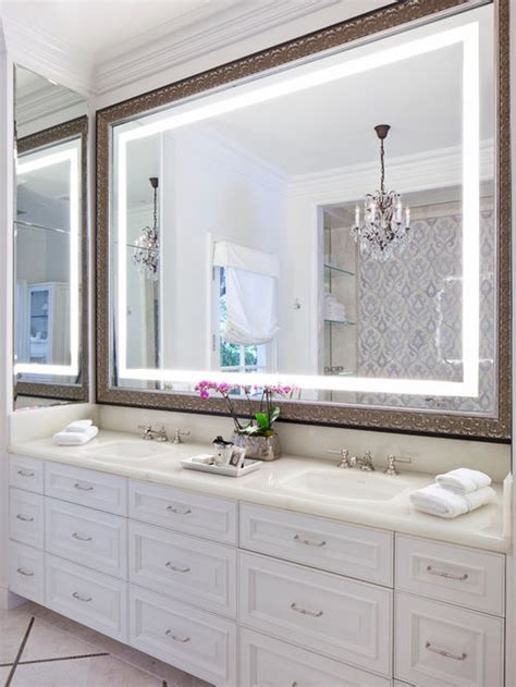 Installing A Bathroom Mirror Install Large Bathroom Mirrors In Your Privy Bellissimainteriors