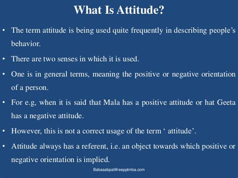What Is The Value Of An Mba by Attitudes Beliefs Values Ppt Of Mba