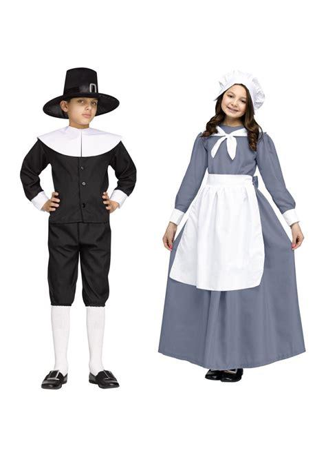 costume set pilgrim boys and costume set costumes