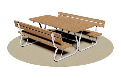 tavolo da pic nic giochipark tavolo con panca pic nic con spalliera