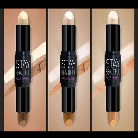 Contour Stik 2 In 1 Highlight novo 2 in 1 matte bronzers highlighters stick
