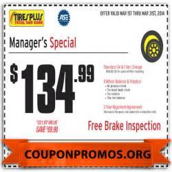 Car Tyres Promo Code Free Printable Tires Plus Coupon January 2017