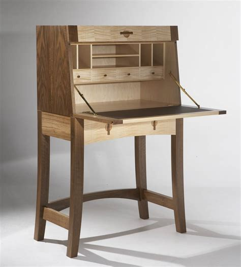 bureau furniture writing bureau in walnut maple makers eye