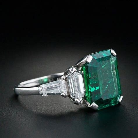 vintage emerald ring jewelry
