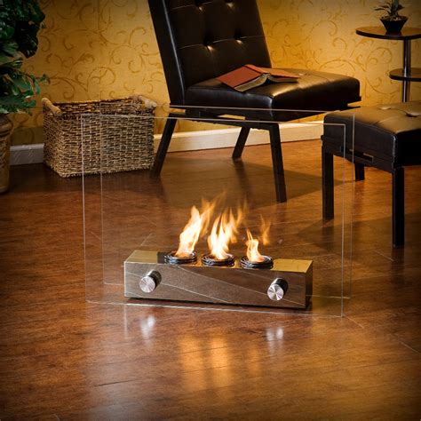 Portable Smokeless Fireplace by 32 Quot Martin Hudson Portable Indoor Outdoor Gel