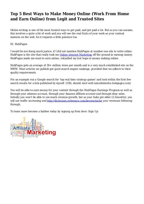 Work Home Make Money Online - home make money online work images usseek com