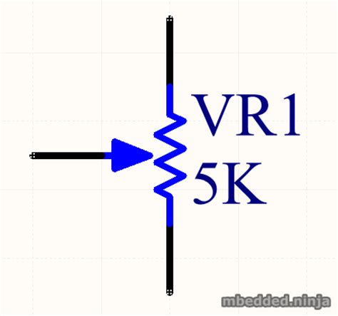 variable resistor symbol in circuit electronic symbols variable resistance clipart best